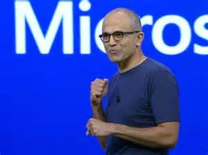 Satya Nadella is throwing punches by buying LinkedIn