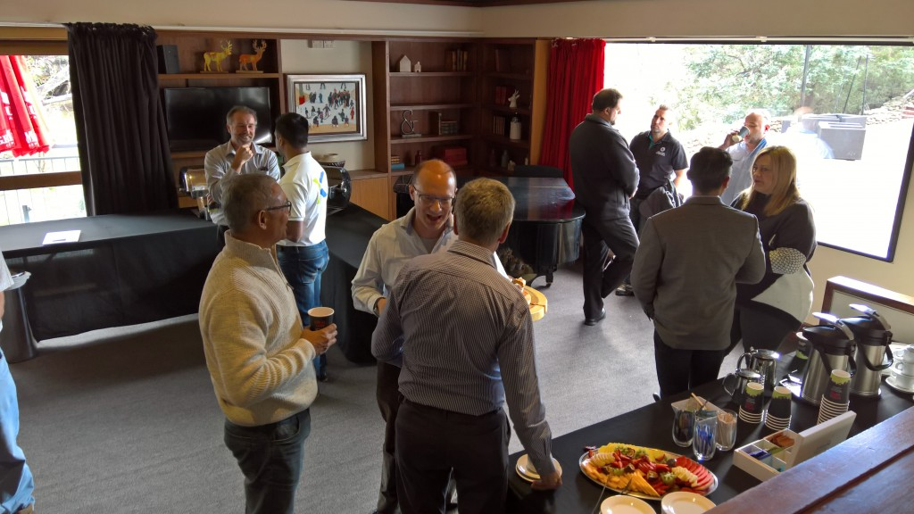 Coffee break on Friday with council team