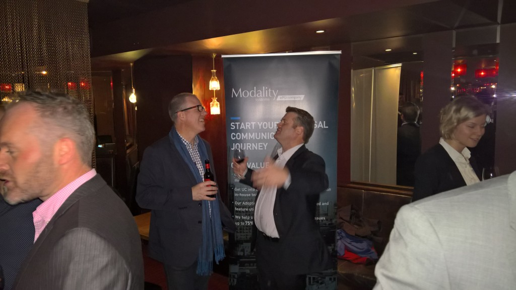 Modality Systems put on a great event