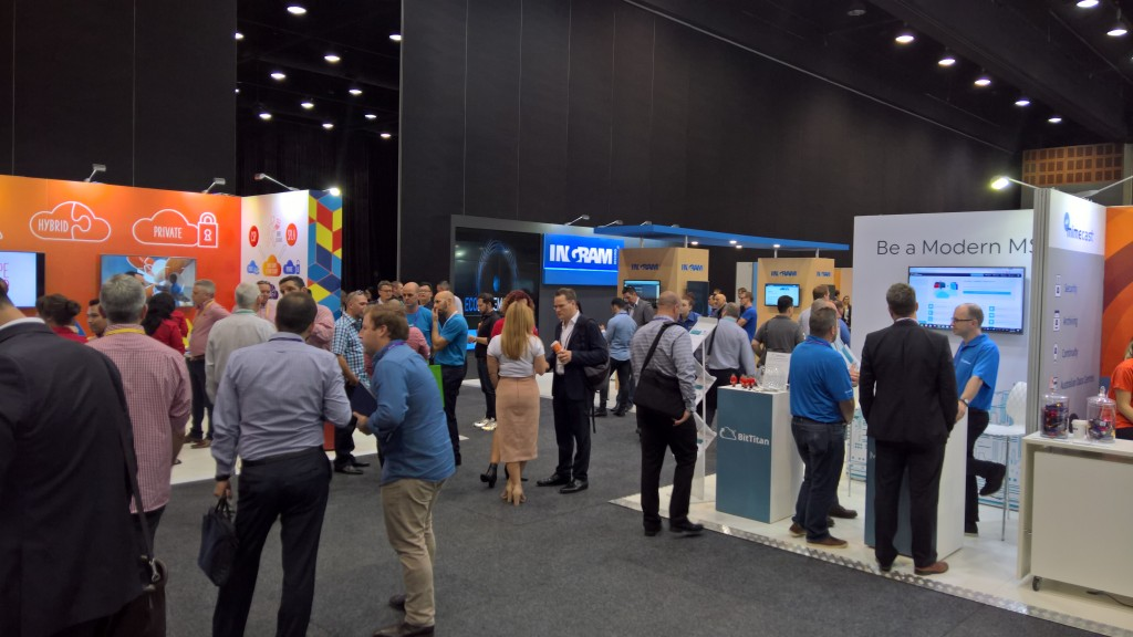 It was a busy and interactive week for the exhibitors