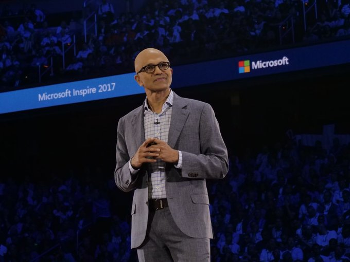 "Satya Nadella stated that we have an ""unprecedented opportunity"""